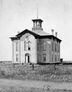 First Cass County Courthouse (1874-1883).