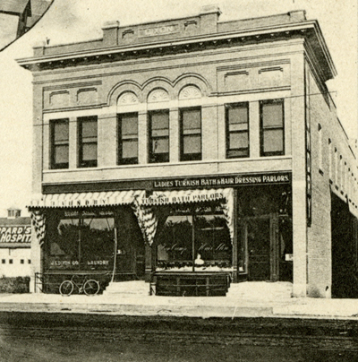 Dixon Hotel And Laundry Image From Souvenir Of Fargo North Dakota 1906