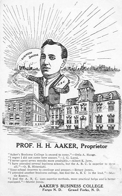 Aakers Business College.