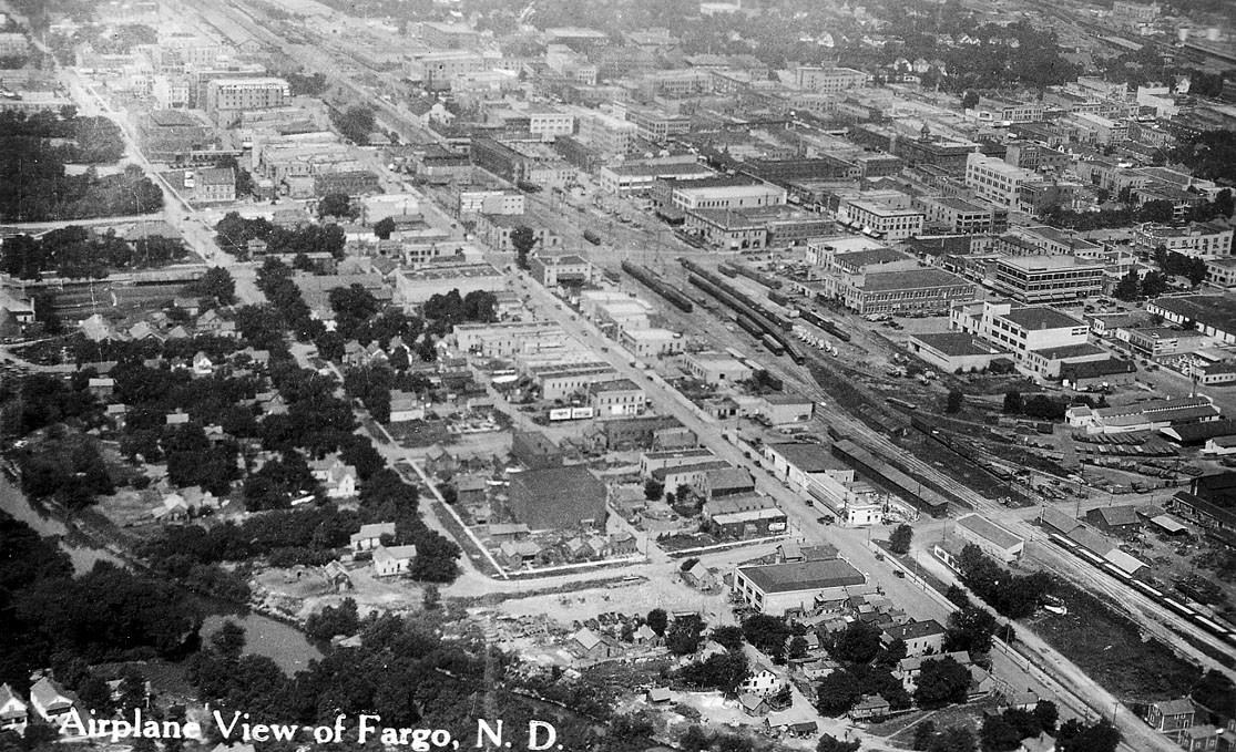 1920s Aerial View | Fargo History