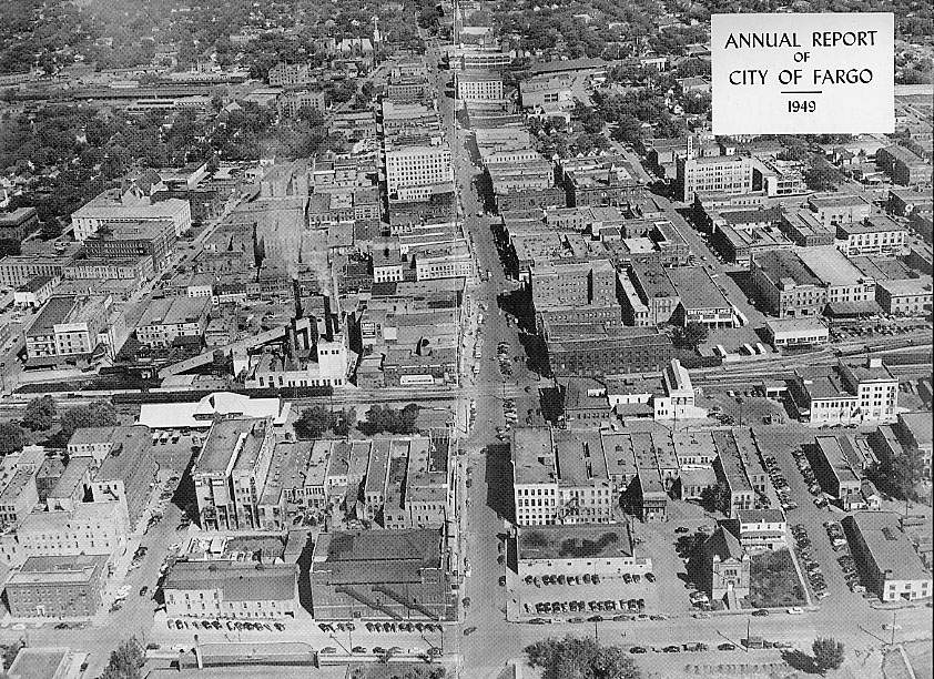 1949 aerial view.