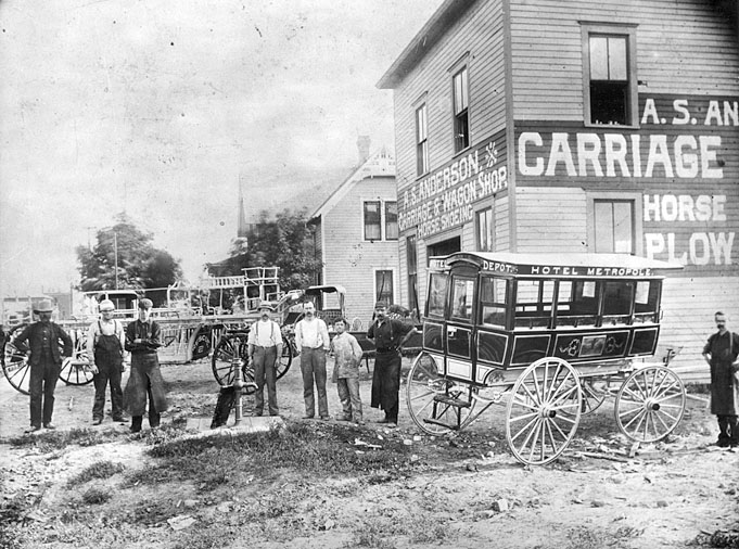 Anderson Carriage & Wagon Shop.