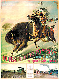 Buffalo Pitts poster from 1900.