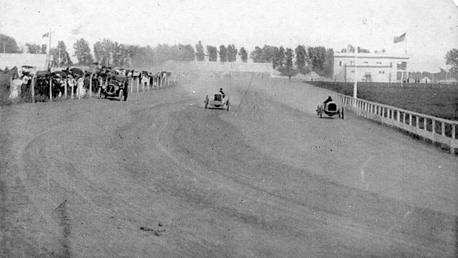 Car Racing at the Fair, 1915.