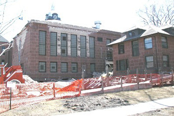 Cass County Jail construction.