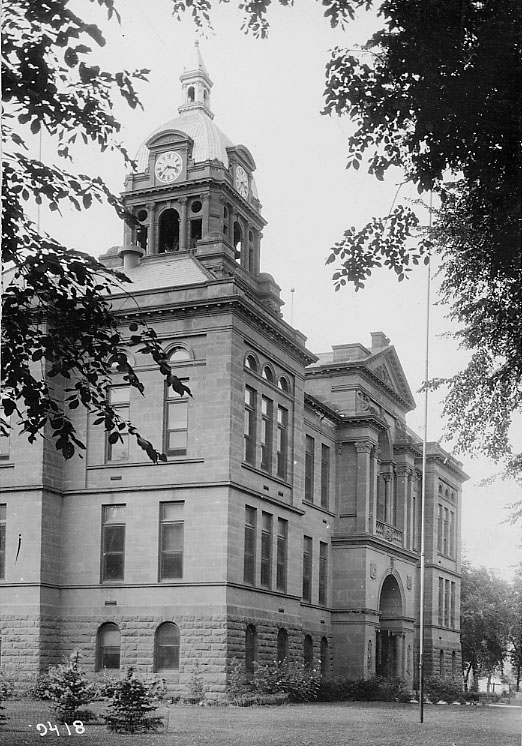 Third Cass County Courthouse (1906-present).