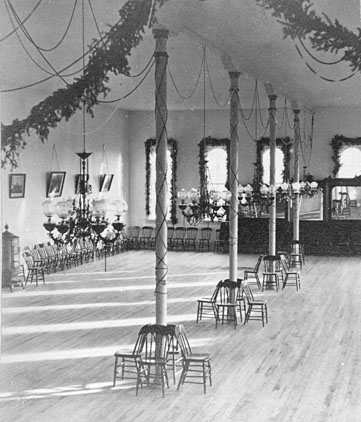 Chapin Hall interior