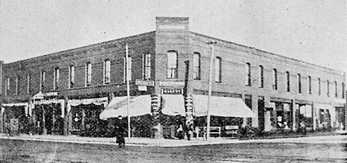 Continental Hotel in 1909.