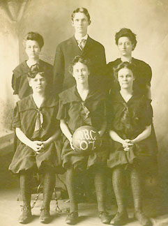Women's basketball team.