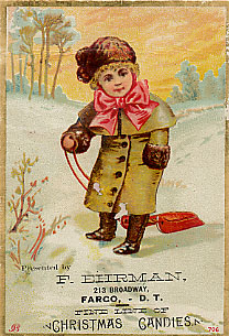 Ehrman's trade card.
