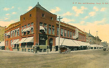 Fargo National Bank, 1897-1911