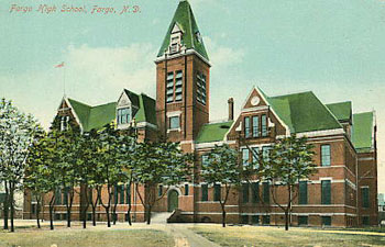 Fargo High School, 1882-1916.