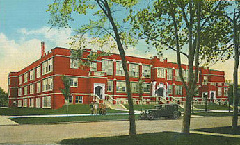 Fargo Central High School, 1921-1966.
