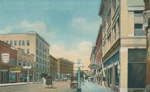 First Avenue in the 1910s.