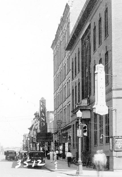First Avenue in the 1930s.