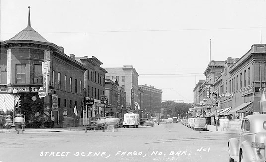 First Avenue in 1940.