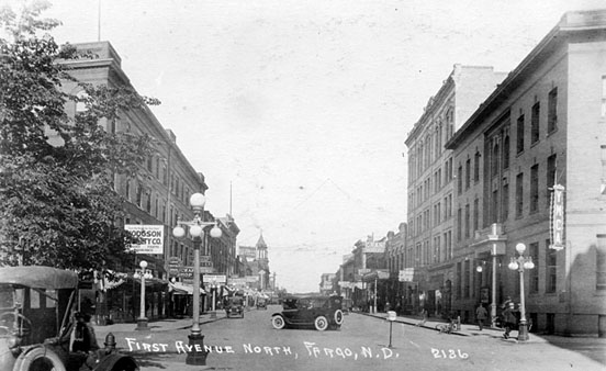 First Avenue in the 1920s.