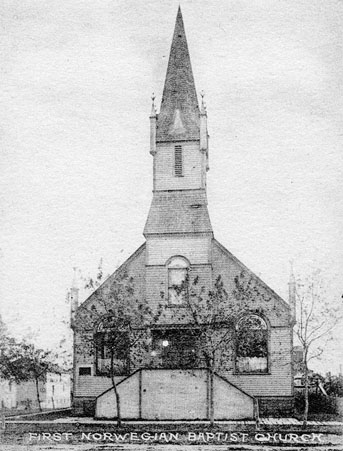 First Norwegian Baptist Church.