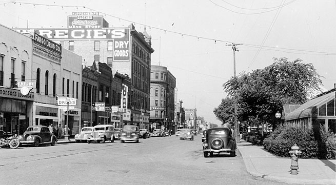 Front Street in 1940.
