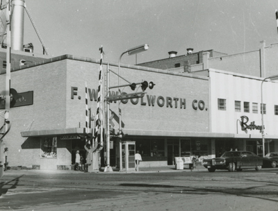 F.W. Woolworth's.