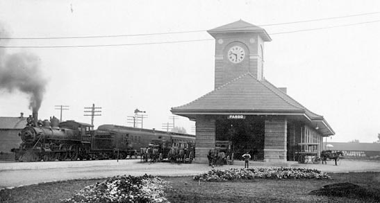 Great Northern Railway Depot (1909).
