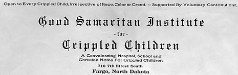 Good Samaritan Institute letterhead.
