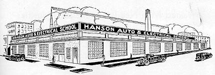 Hanson auto school fargo history for Hanson motors service department
