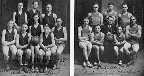 Interstate Business College baskeball team.