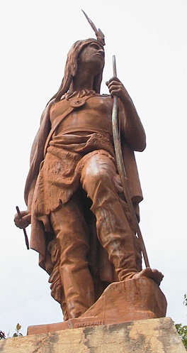 Statue in Calhoun, Georgia