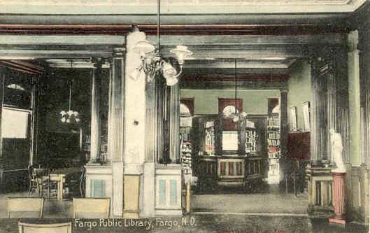 Fargo Public Library Interior
