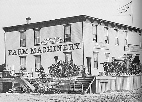 Machinery Hall.