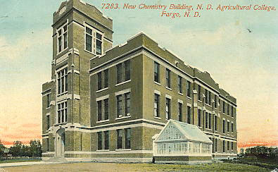 Chemistry Building, 1910 - present.