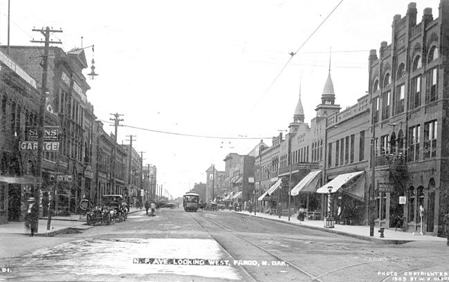NP Avenue in 1909.