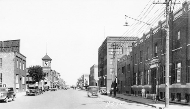 NP Avenue in the 1930s.