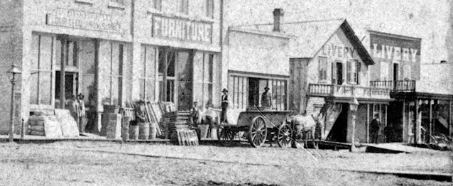 NP Avenue in the 1880s.