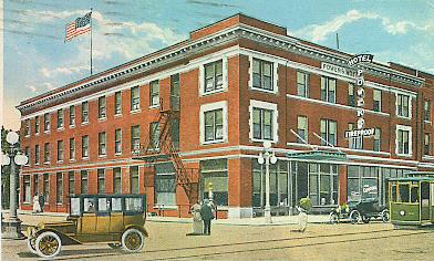 Powers Hotel (Fargo, North Dakota) - Powers Hotel | Fargo History - Advertised as