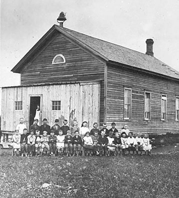 Fargo's first public school