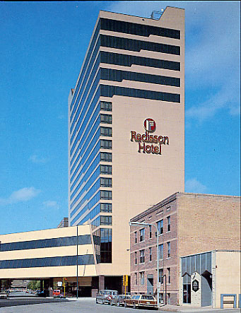 Radisson hotel fargo history for U motors fargo north dakota