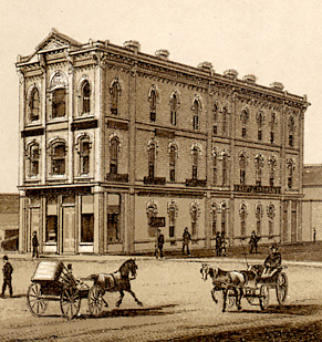 Red River Valley National Bank in 1883