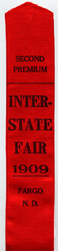 1909 Fair ribbon.