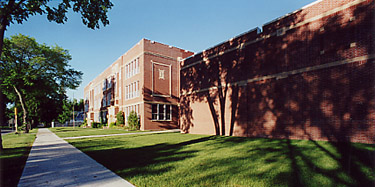 Roosevelt School in 2001.