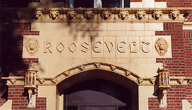Roosevelt School entrance.