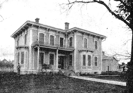 S.G. Roberts Residence in 1899.