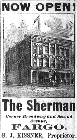 Sherman House Hotel.