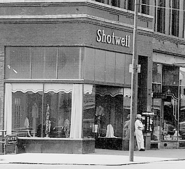 Shotwell's Clothing.