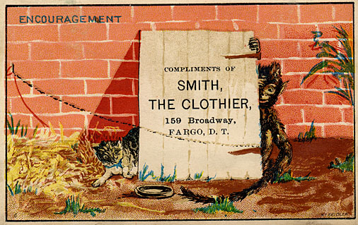 Smith, Clothier trade card.