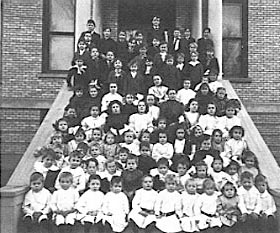 St. John's Orphanage and Free School.
