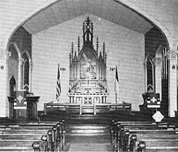 St. Mark's Interior 1912.