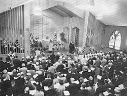 St. Mark's Interior 1962.