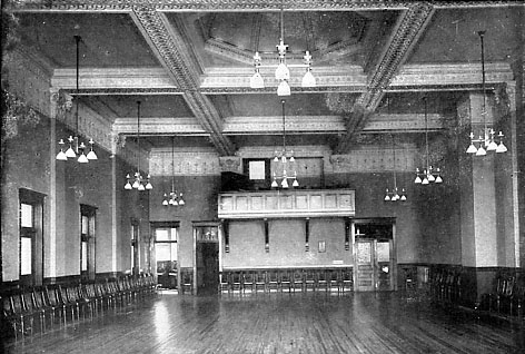 Second floor auditorium.